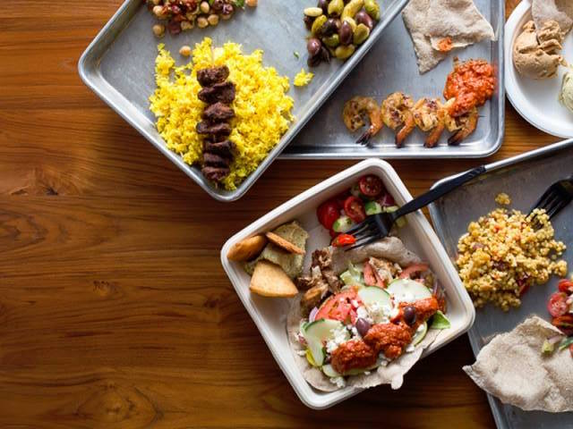 3/Taze Mediterranean Street Food