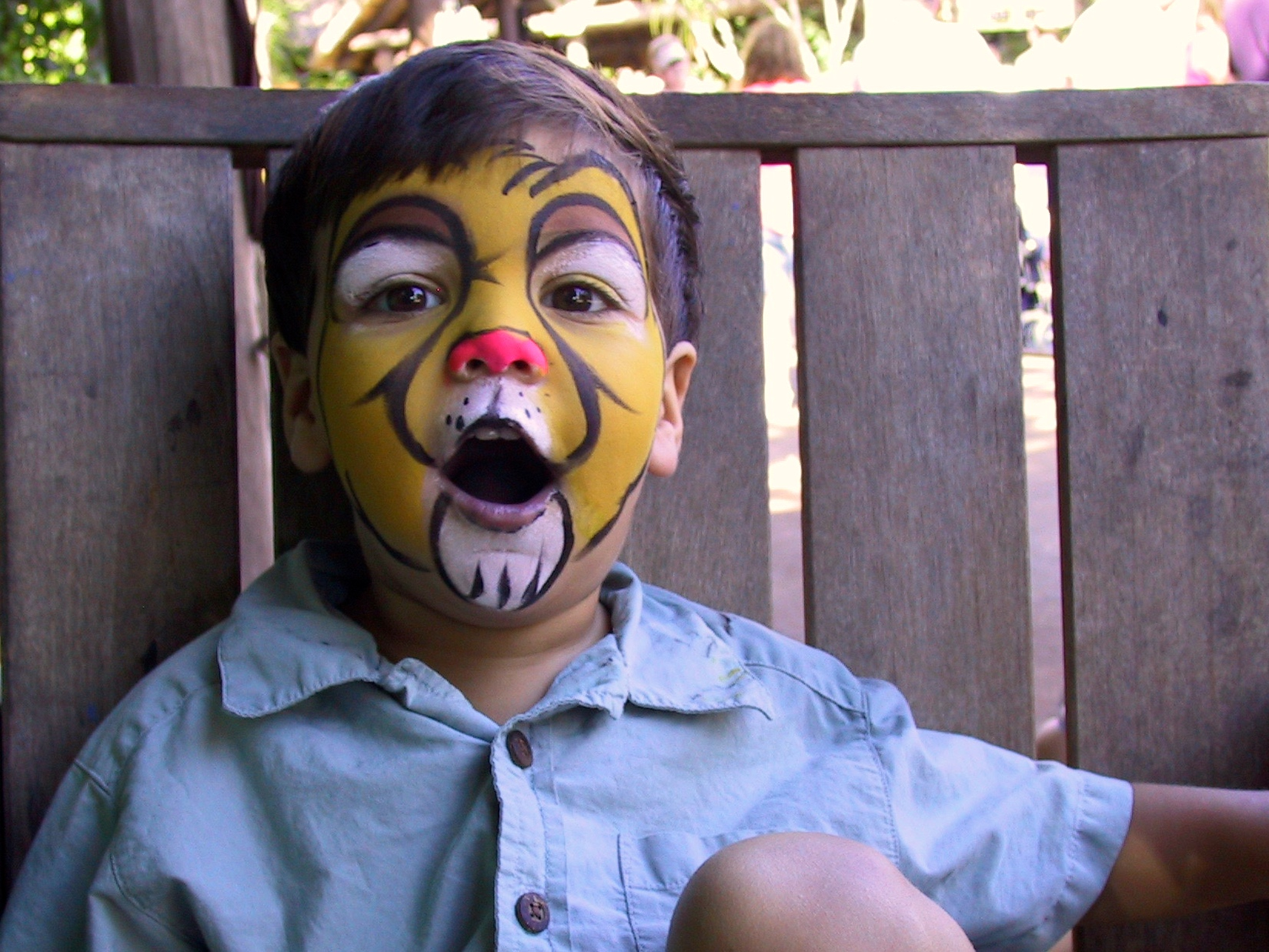 7/Face painting