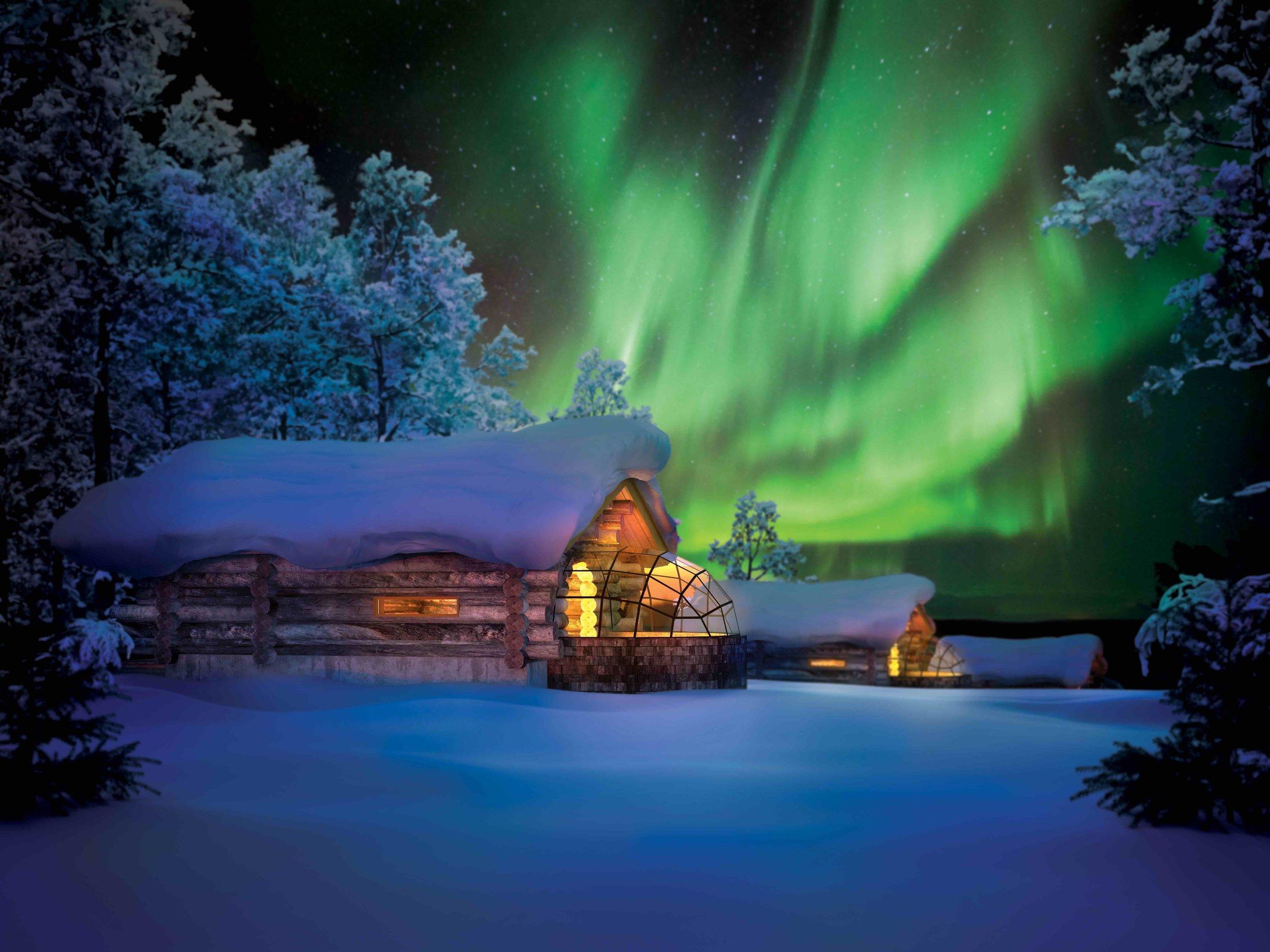 1/Visit Santa on his home turf