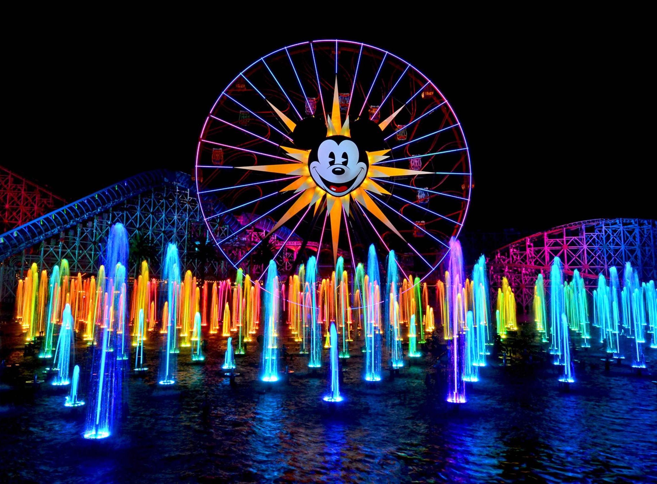 8/World of Color at Disney's California Adventure