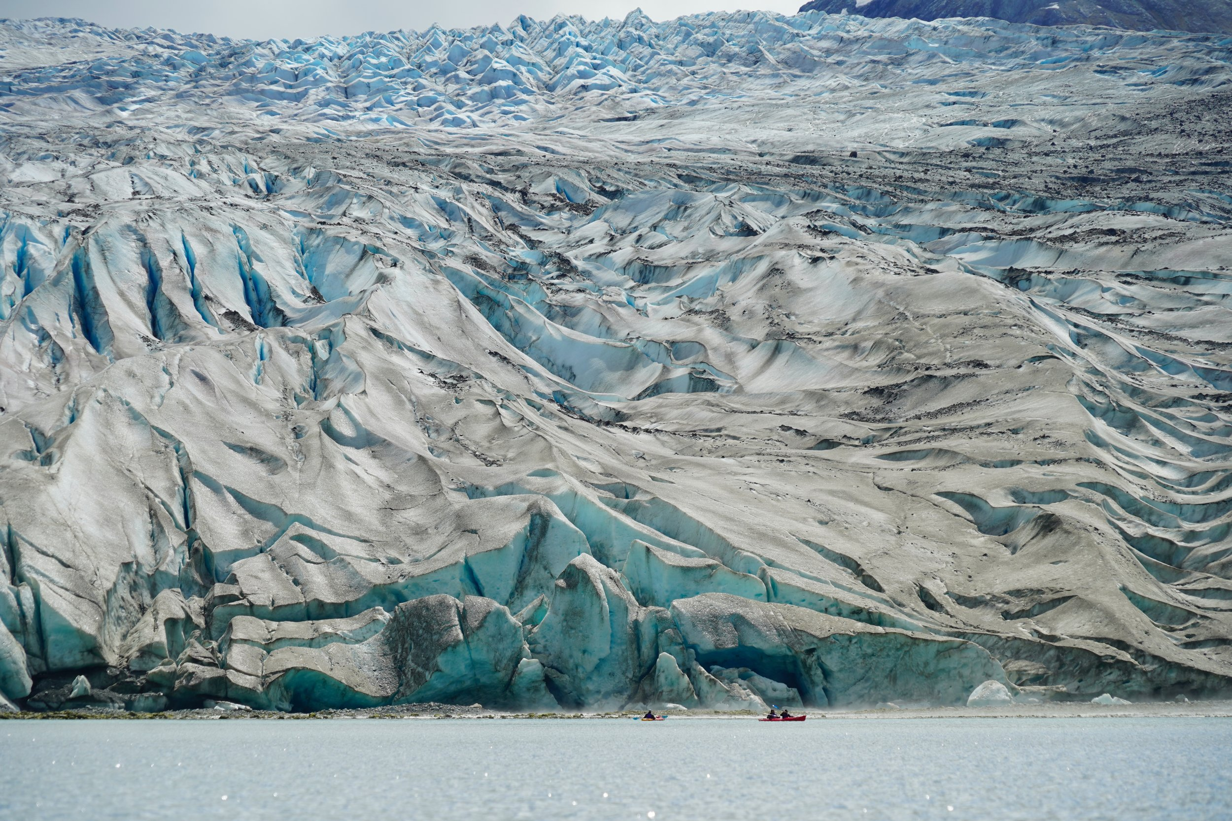 6/Paddle up to a glacier