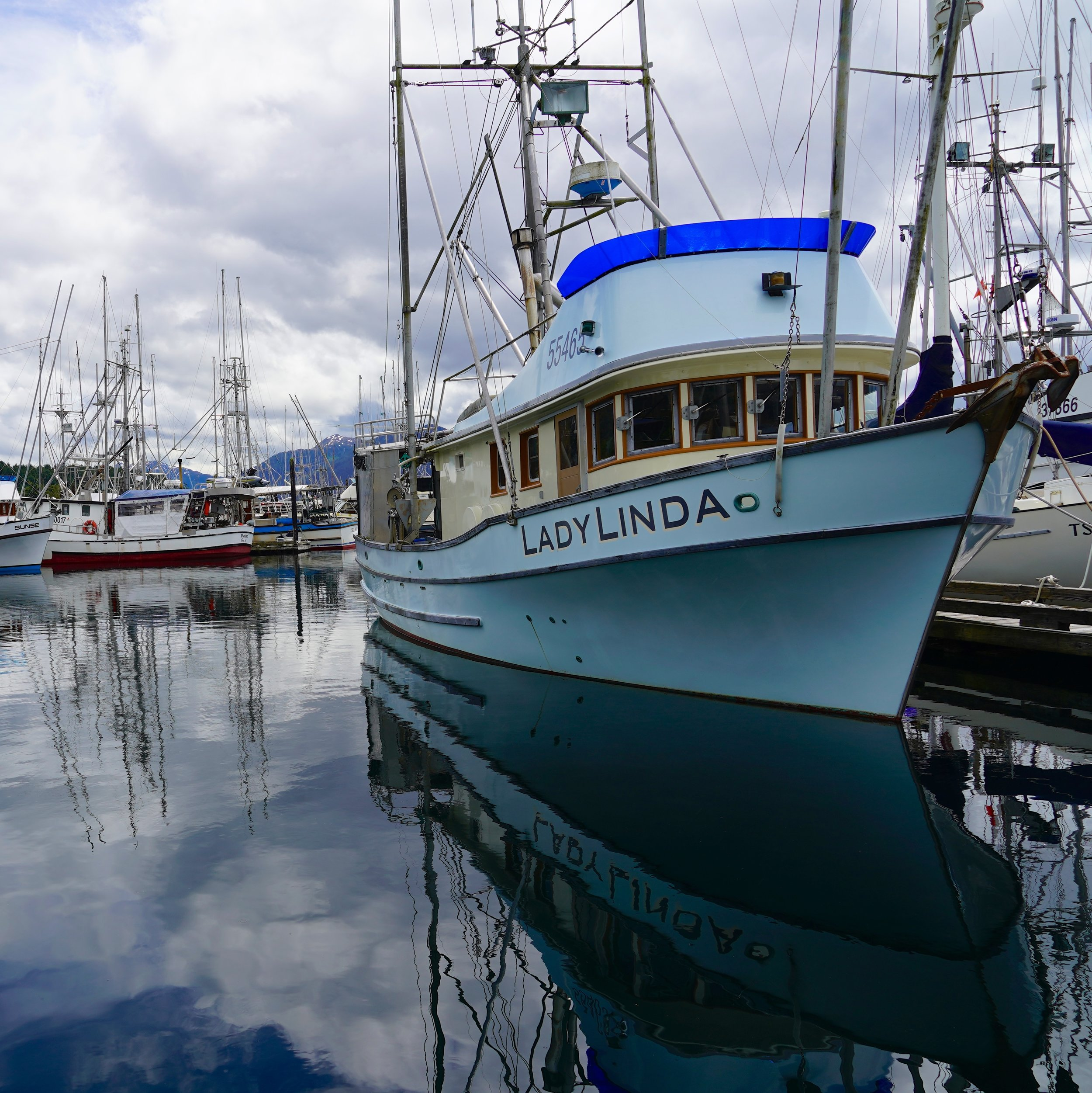 6-24-18 Fishing boat reflection.JPG
