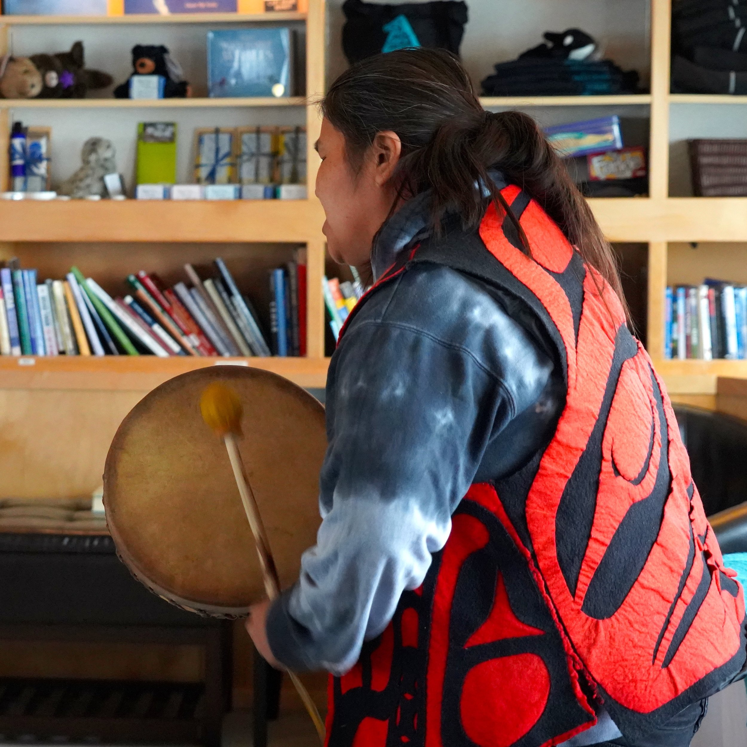 6-29-18 Native guide drumming copy.JPG