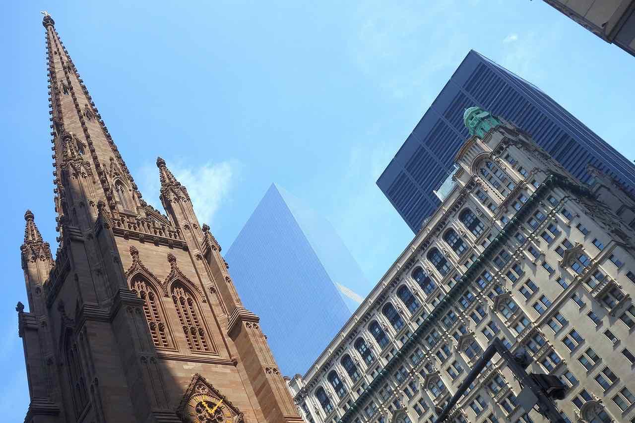5/St.  Paul's Chapel & Trinity Church