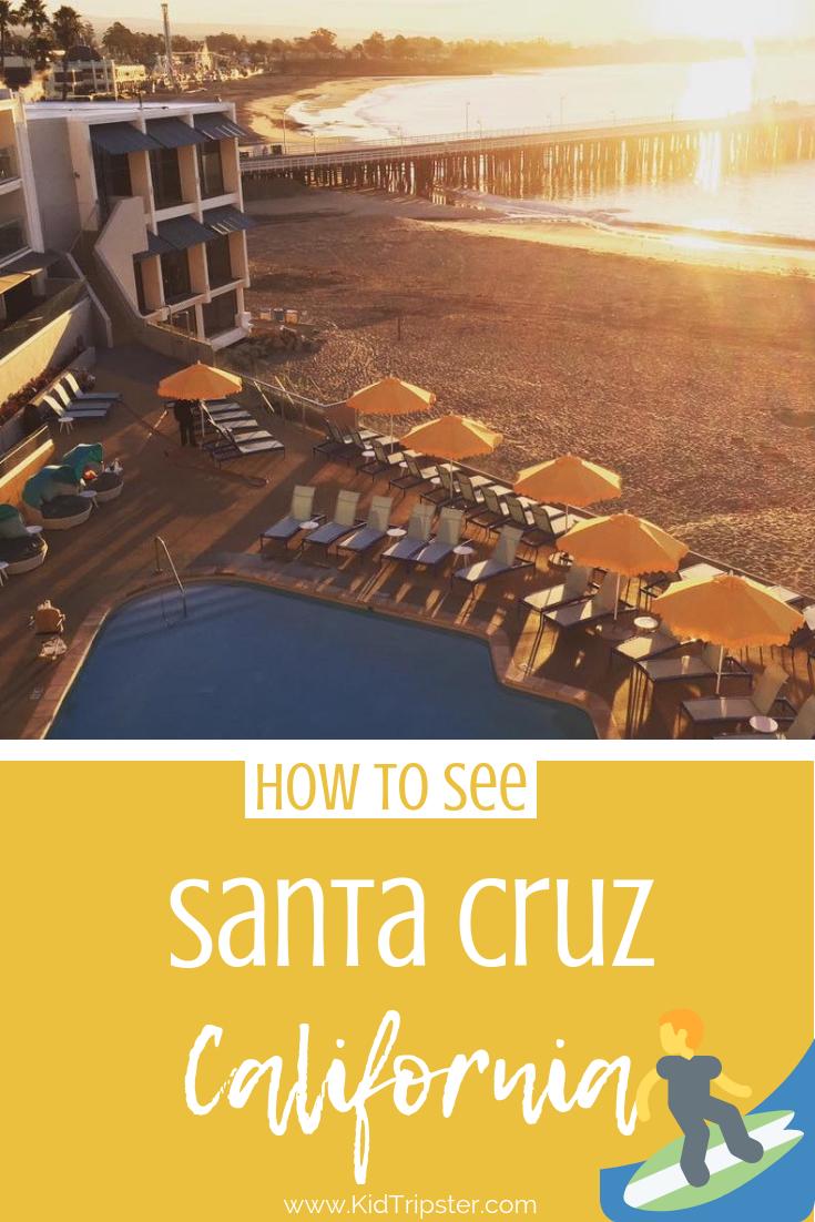 Family vacation to San Cruz, California
