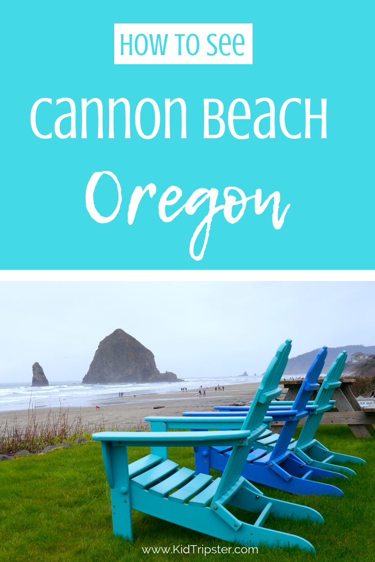 Family vacation in Cannon Beach, Oregon