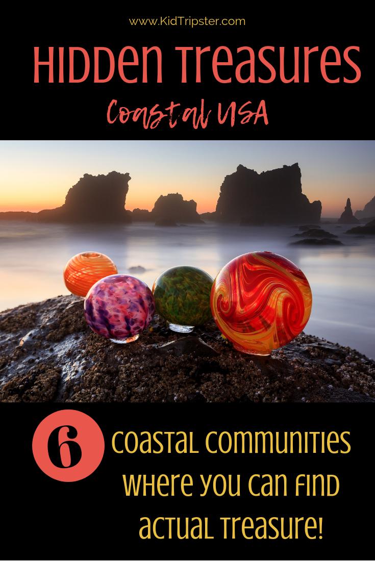 Hidden treasure in coastal towns USA