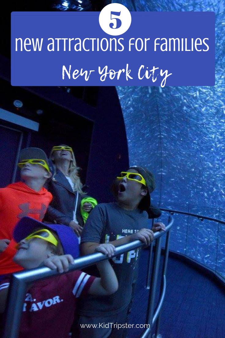 New Attractions for families in NYC