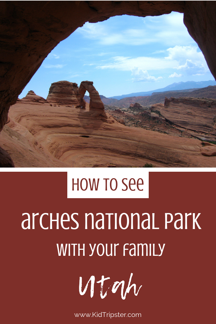 Family vacation to Arches National Park, Utah