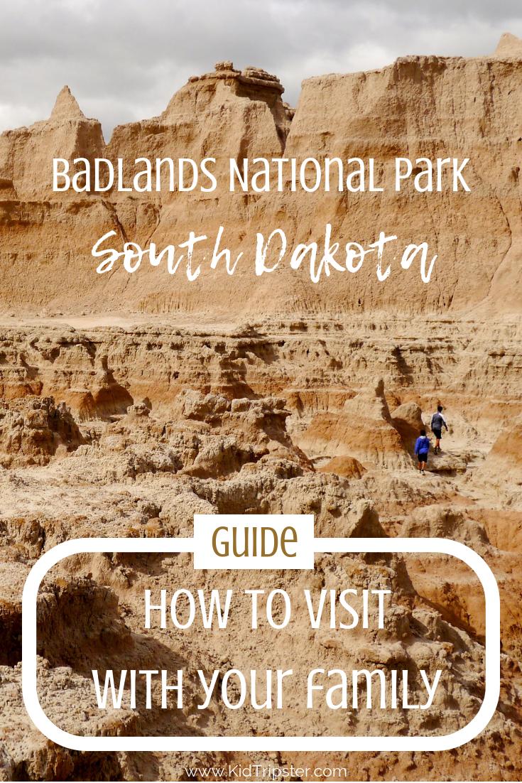 Family vacation to Badlands National Park, South Dakota