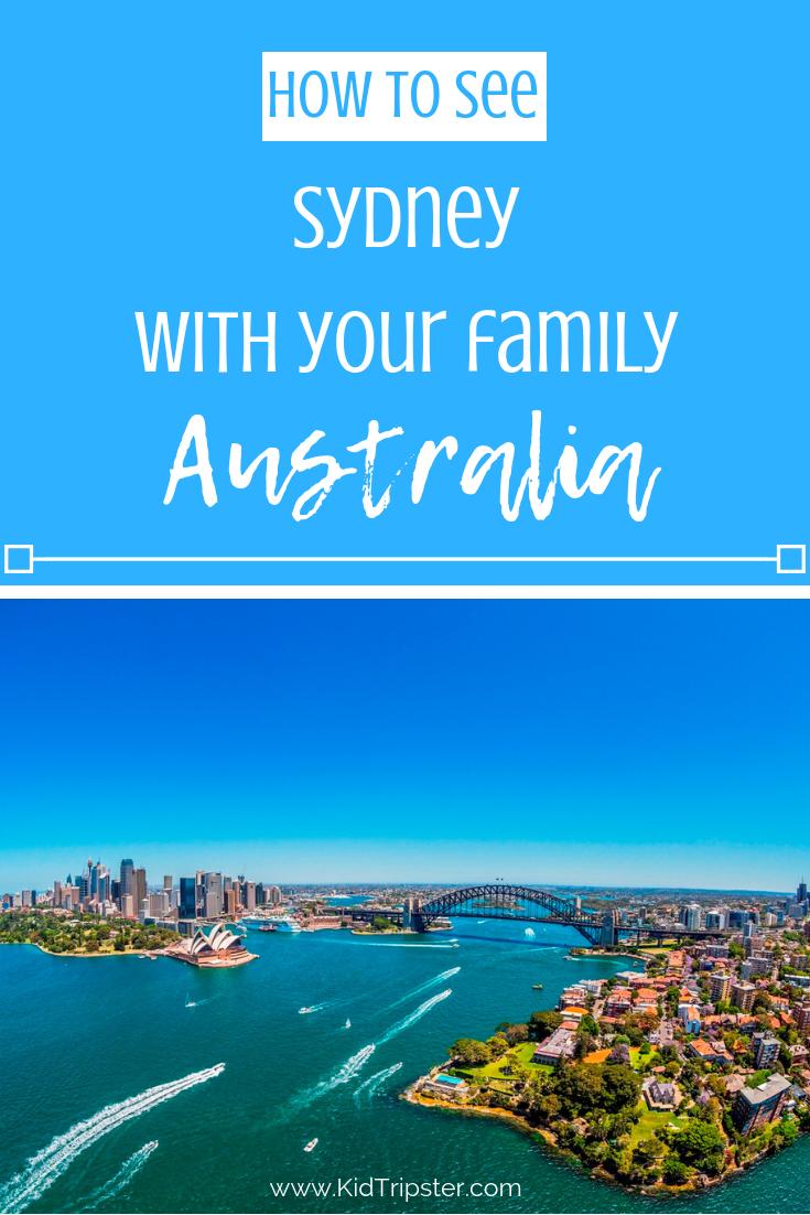 Family vacation to Sydney, Australia