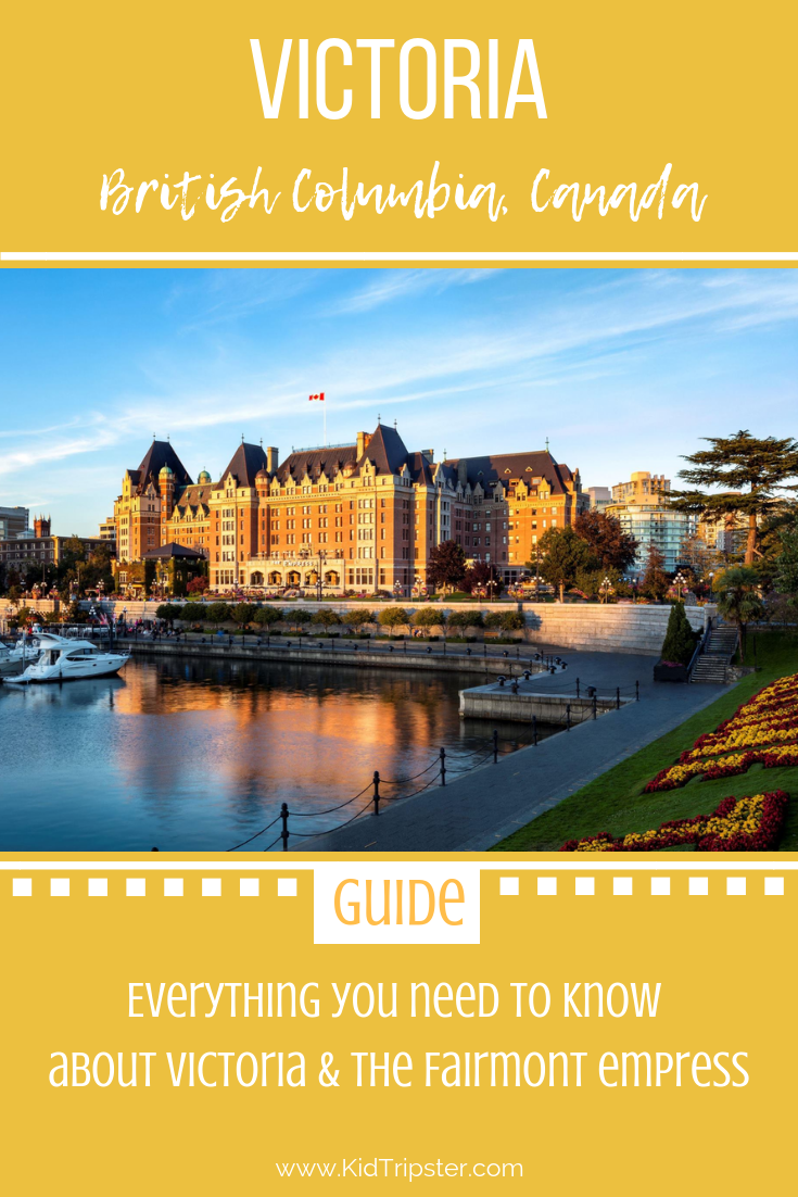 Family vacation to Victoria, British Columbia, Canada