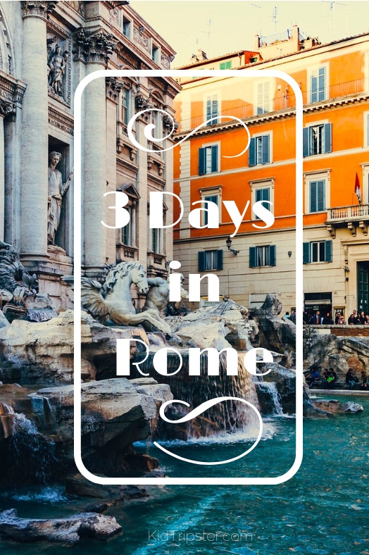 Family vacation to Rome, Italy