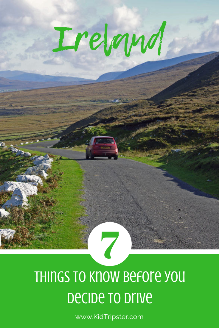 Driving Tips for Ireland