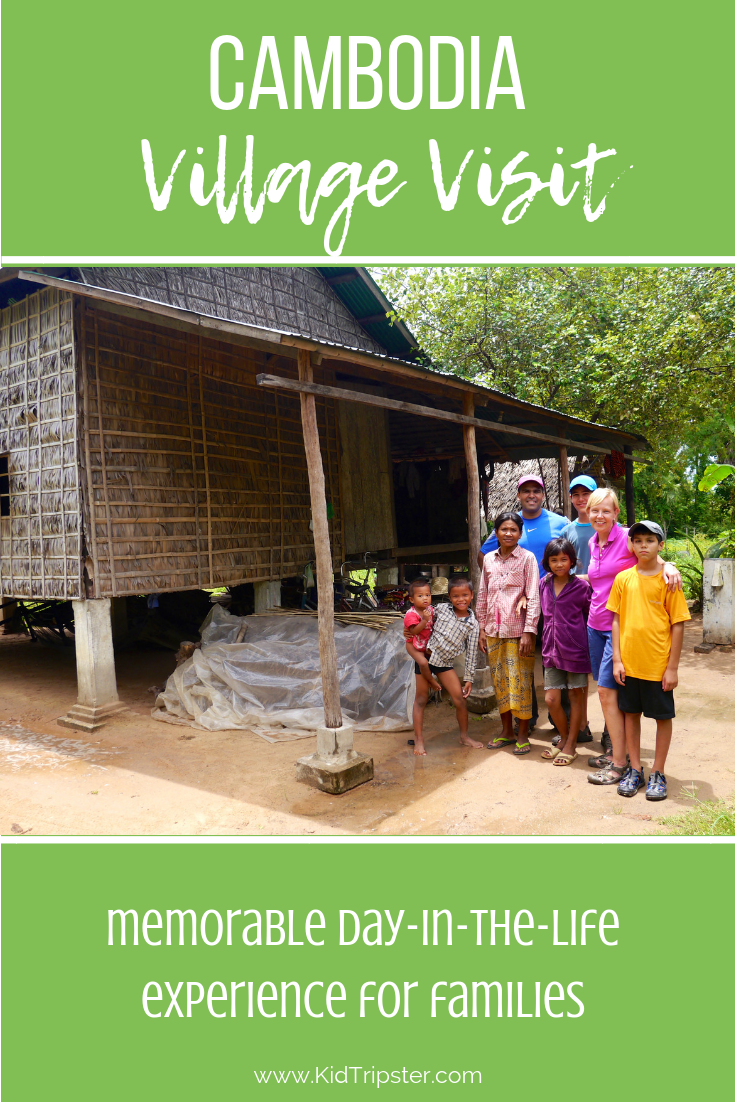 Village Visit for Families, Cambodia