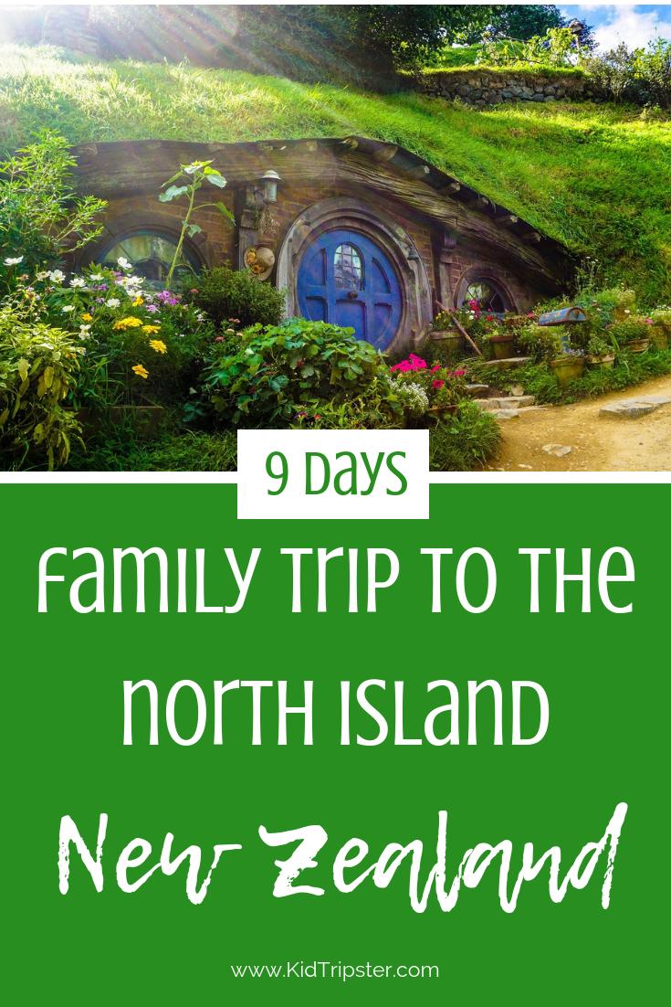 Family vacation to New Zealand