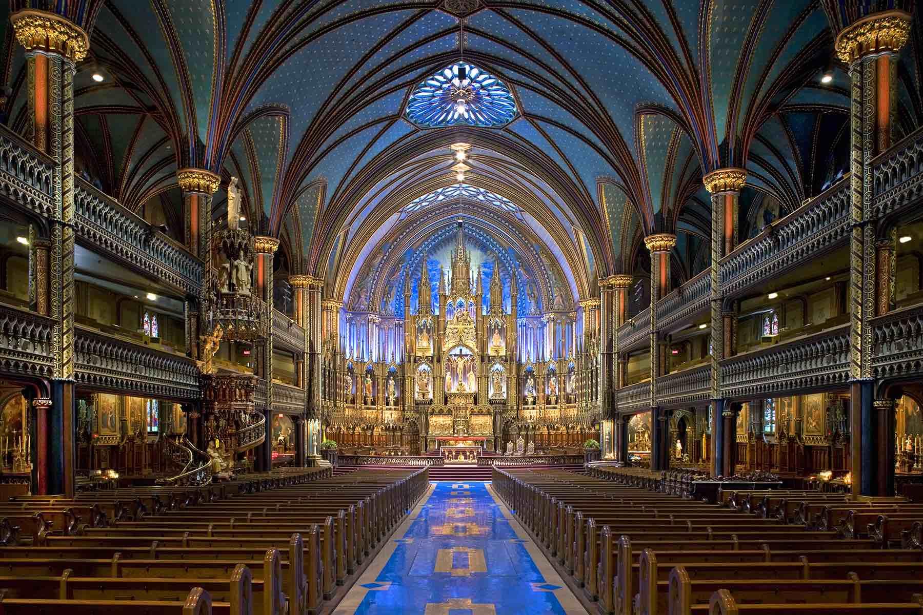 3/Basilique Notre-Dame de Montréal