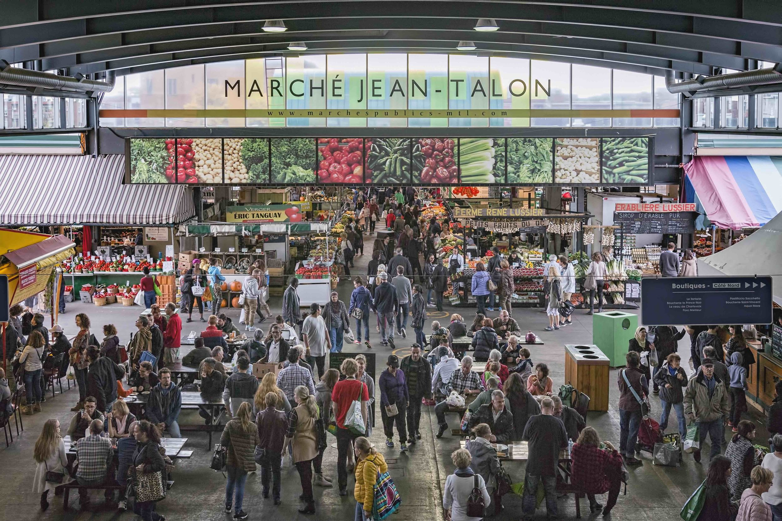 8) Marché Jean-Talon (Jean-Talon Market)
