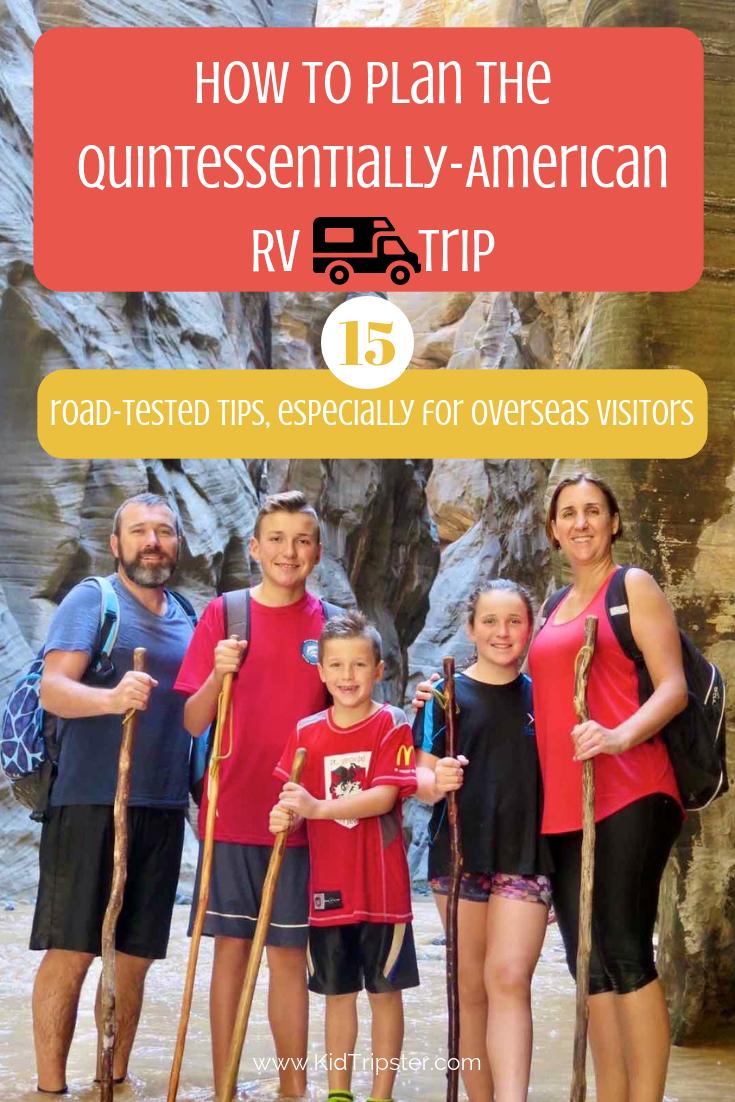 Family RV Trip Tips
