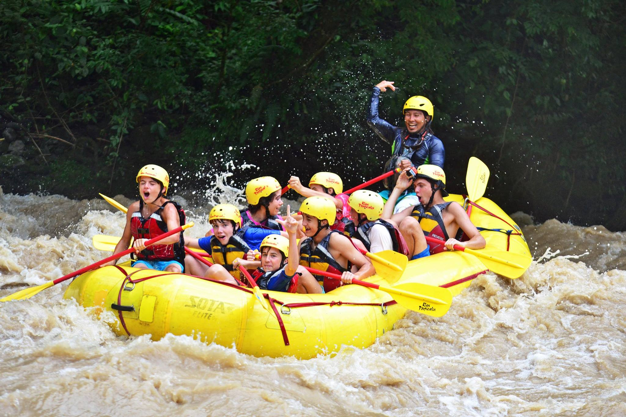 4/Brave the rapids