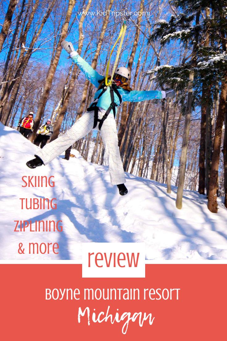 Family Ski Vacation to Boyne Mountain Resort, Michigan