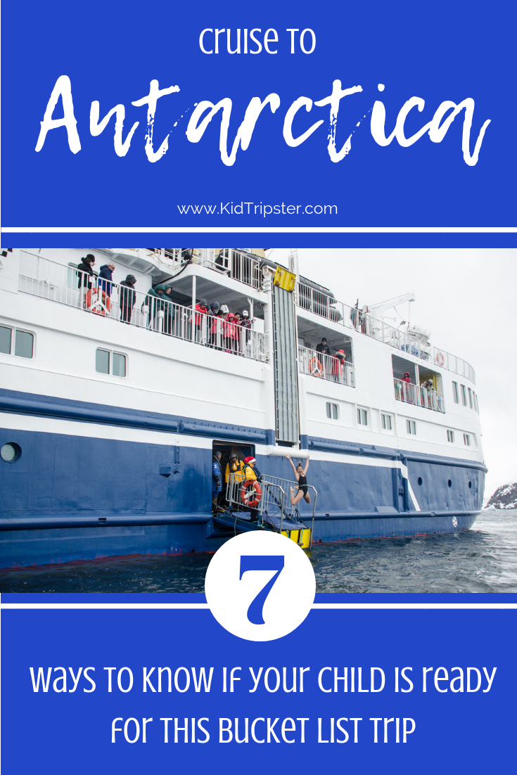 Ready for Antarctica cruise