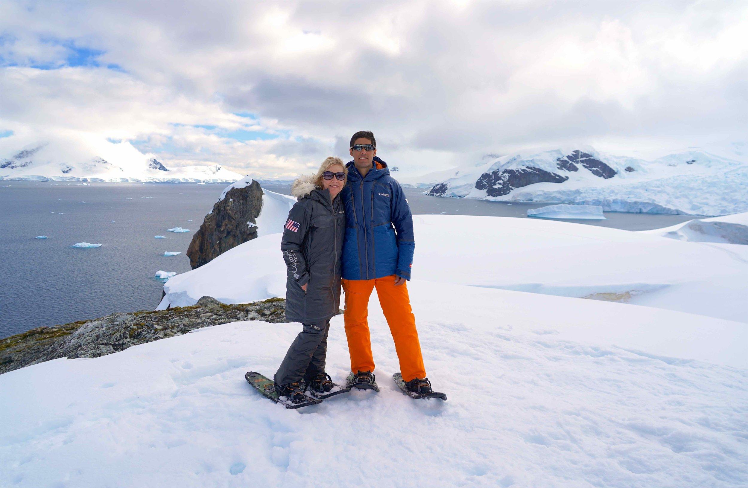 Outdoor gear for Antarctica Columbia Sportswear