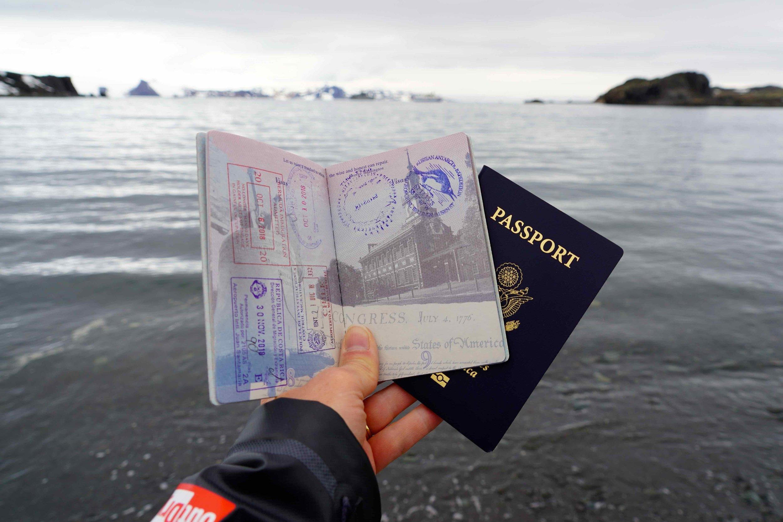 Family cruise to Antarctica