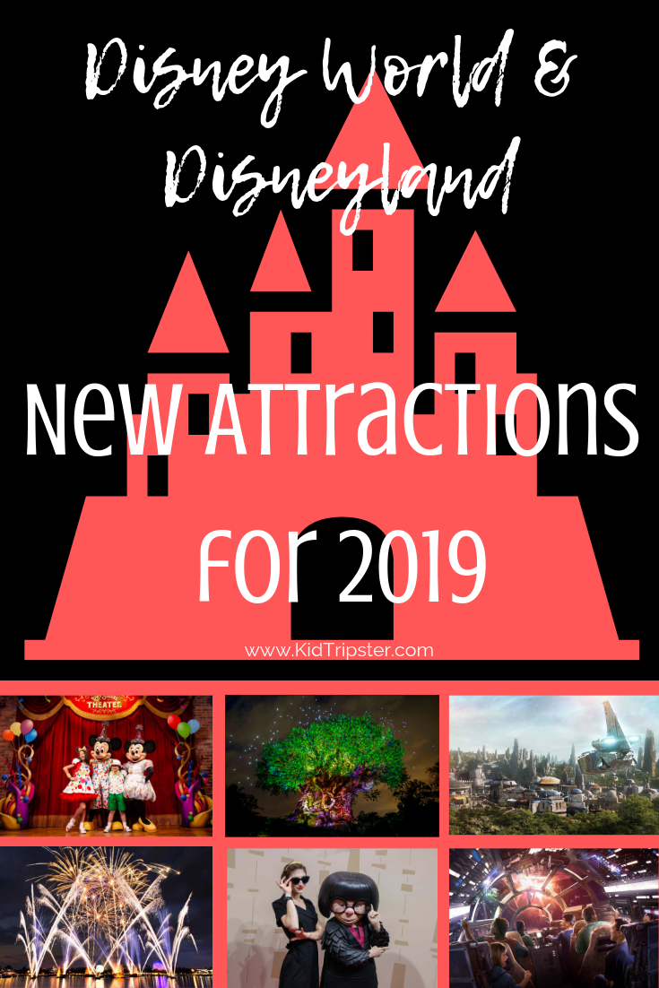 Disney Attractions 2019