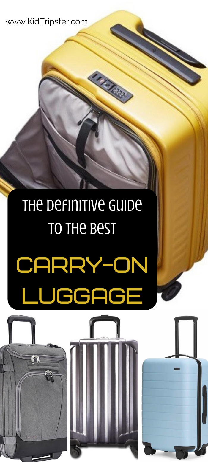 Definitive guide to the best carry-on luggage