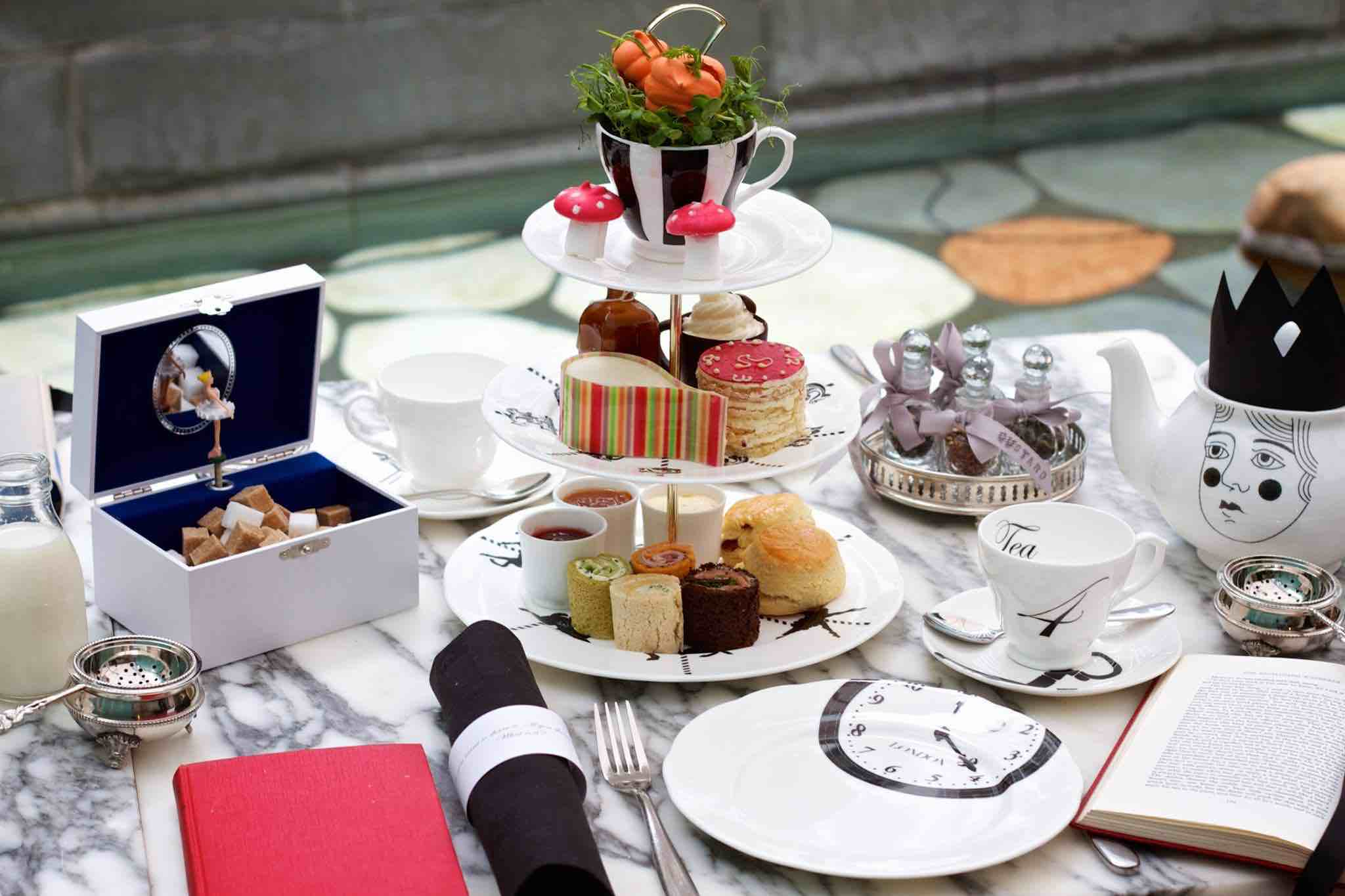 3/Mad Hatters Afternoon Tea at The Sanderson