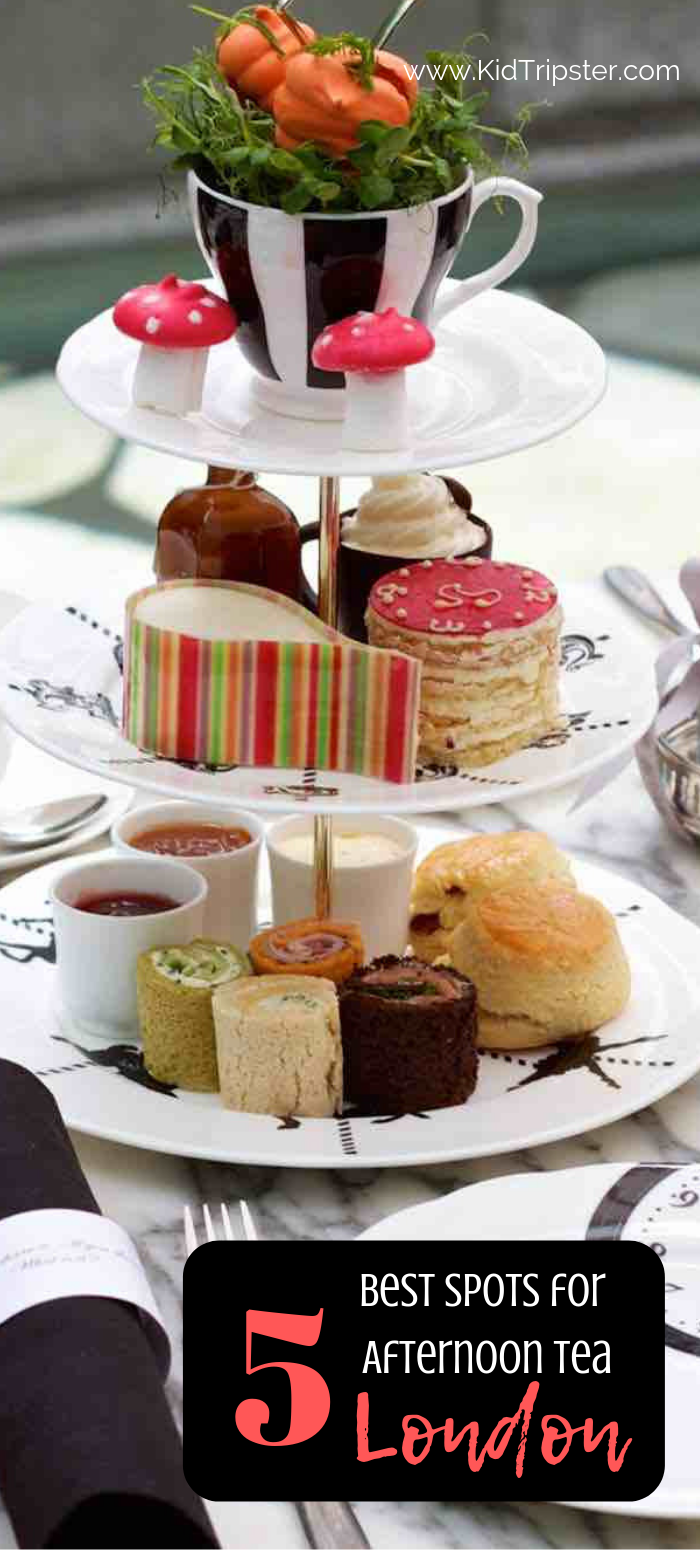 Best spots for afternoon tea with kids in London England
