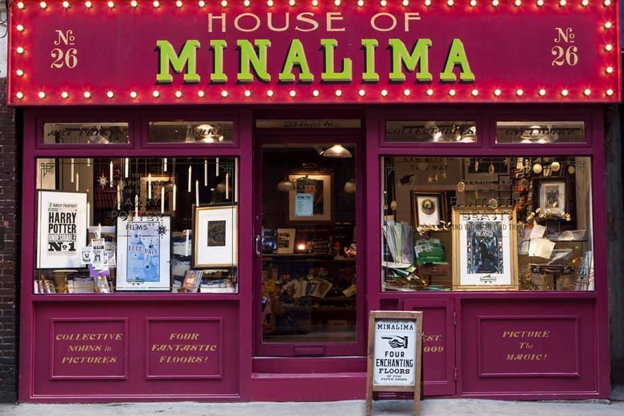 5/Admire artwork from Harry Potter films at House of MinaLima