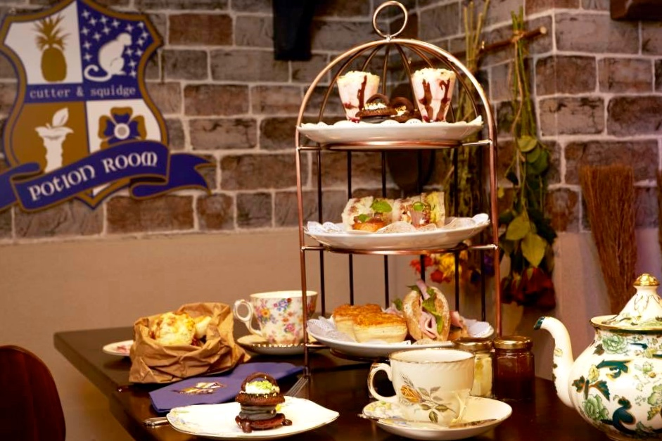 9/Enjoy wizard-themed afternoon tea at Cutter & Squidge