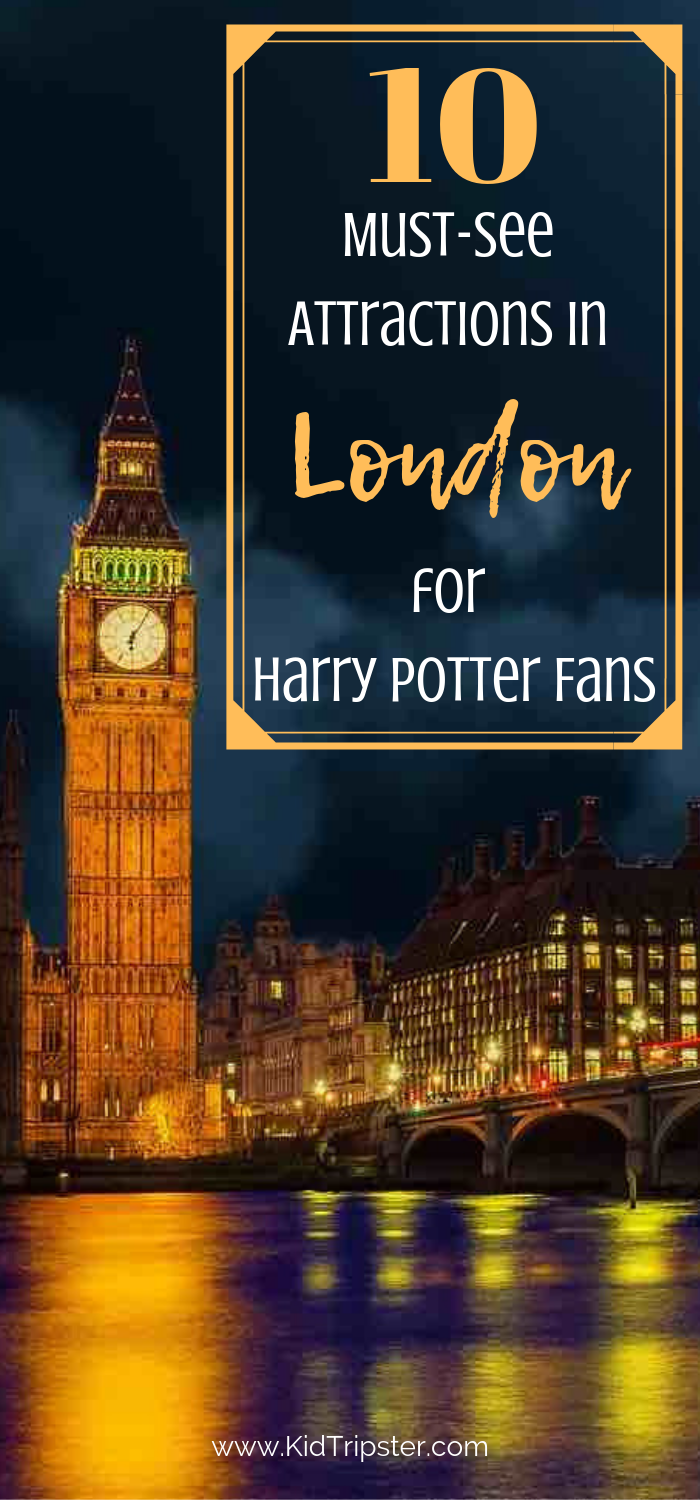 10 Attractions for Harry Potter Fans in London