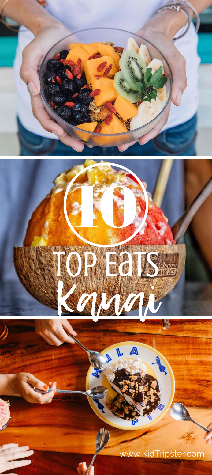 Top 10 Eats Kauai Hawaii