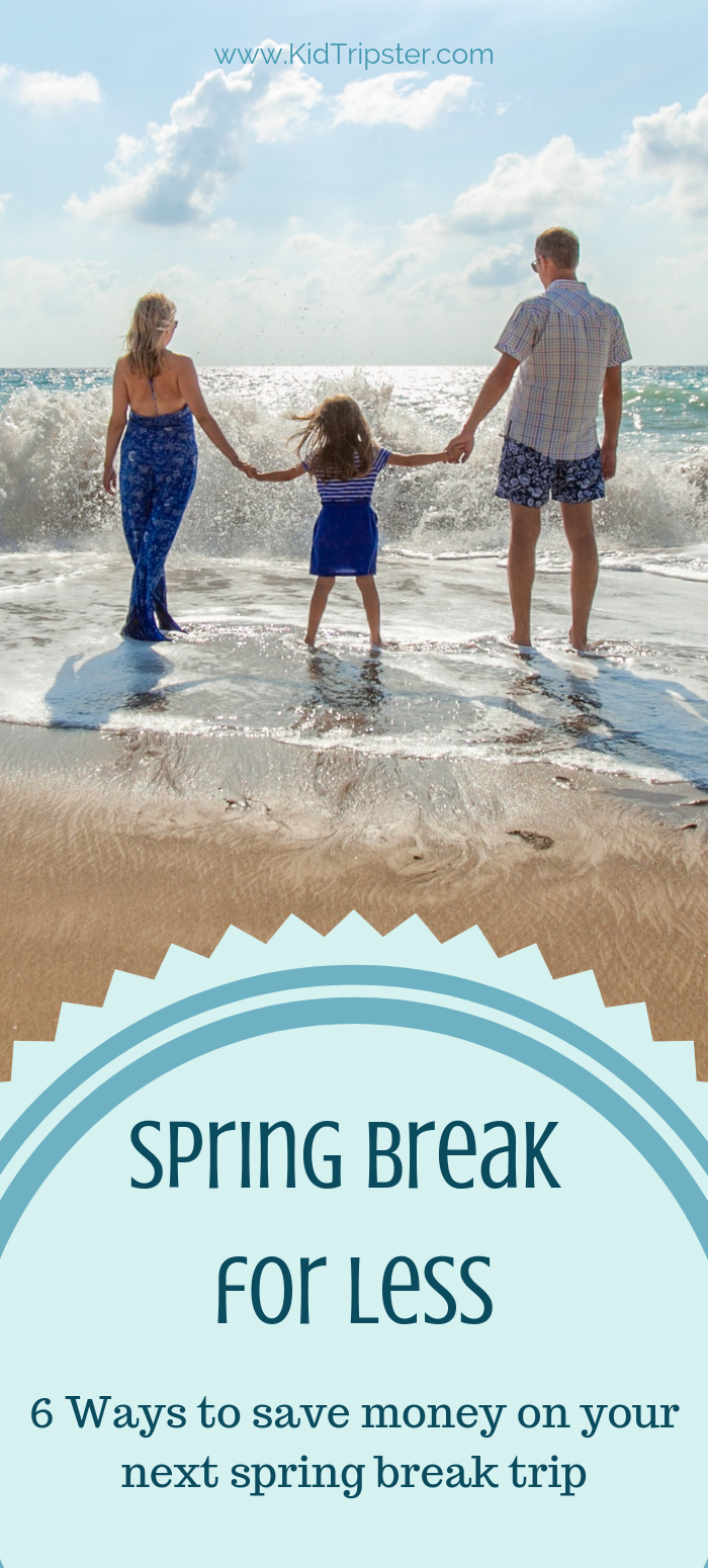 How to save money on spring break