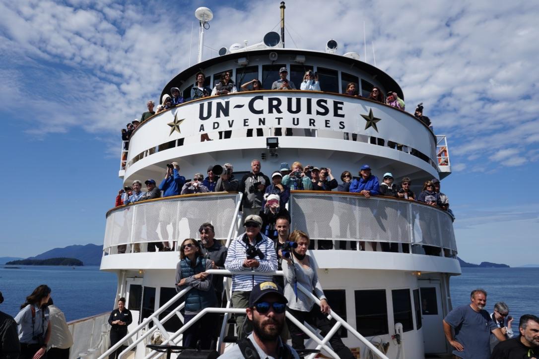 DAY 1: Juneau embarkation