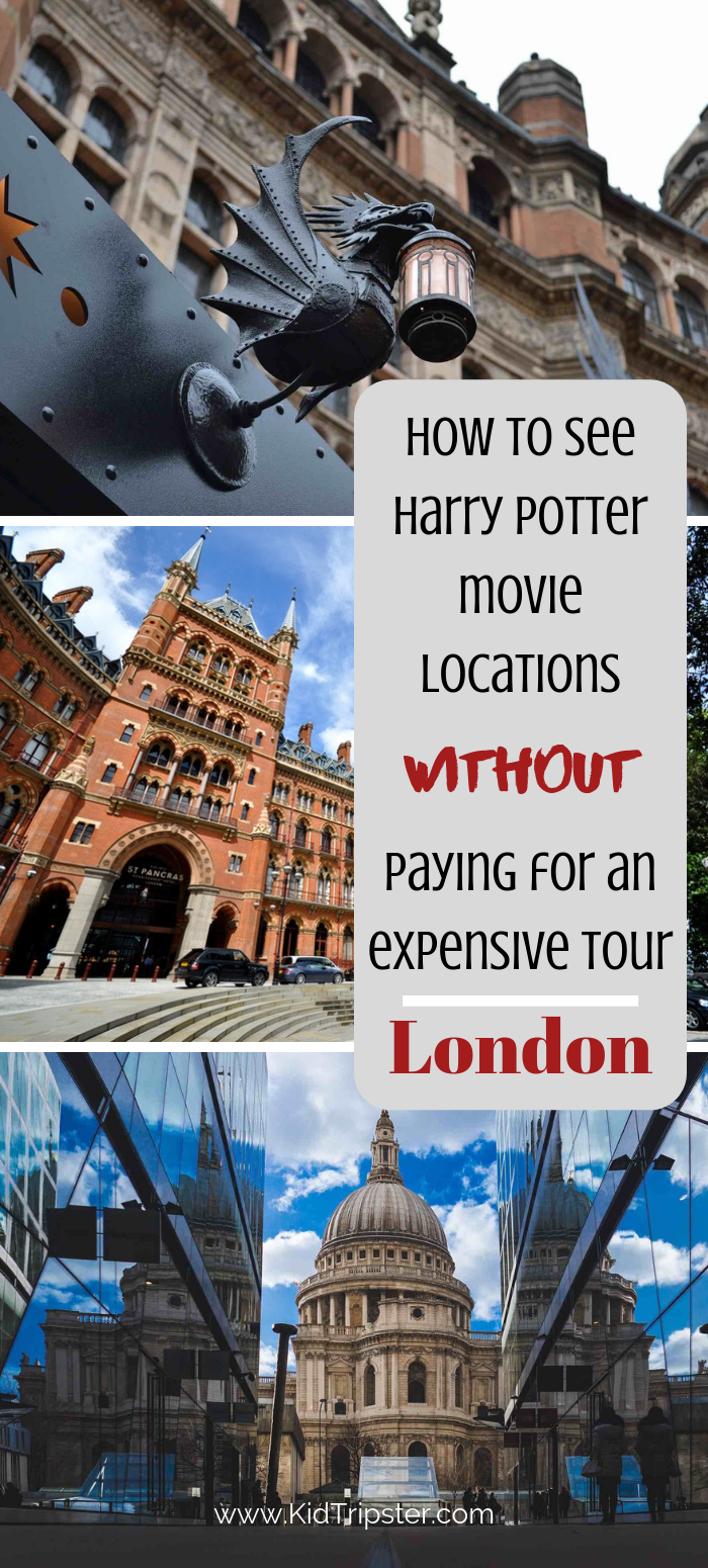 How to visit Harry Potter movie locations in London on your own