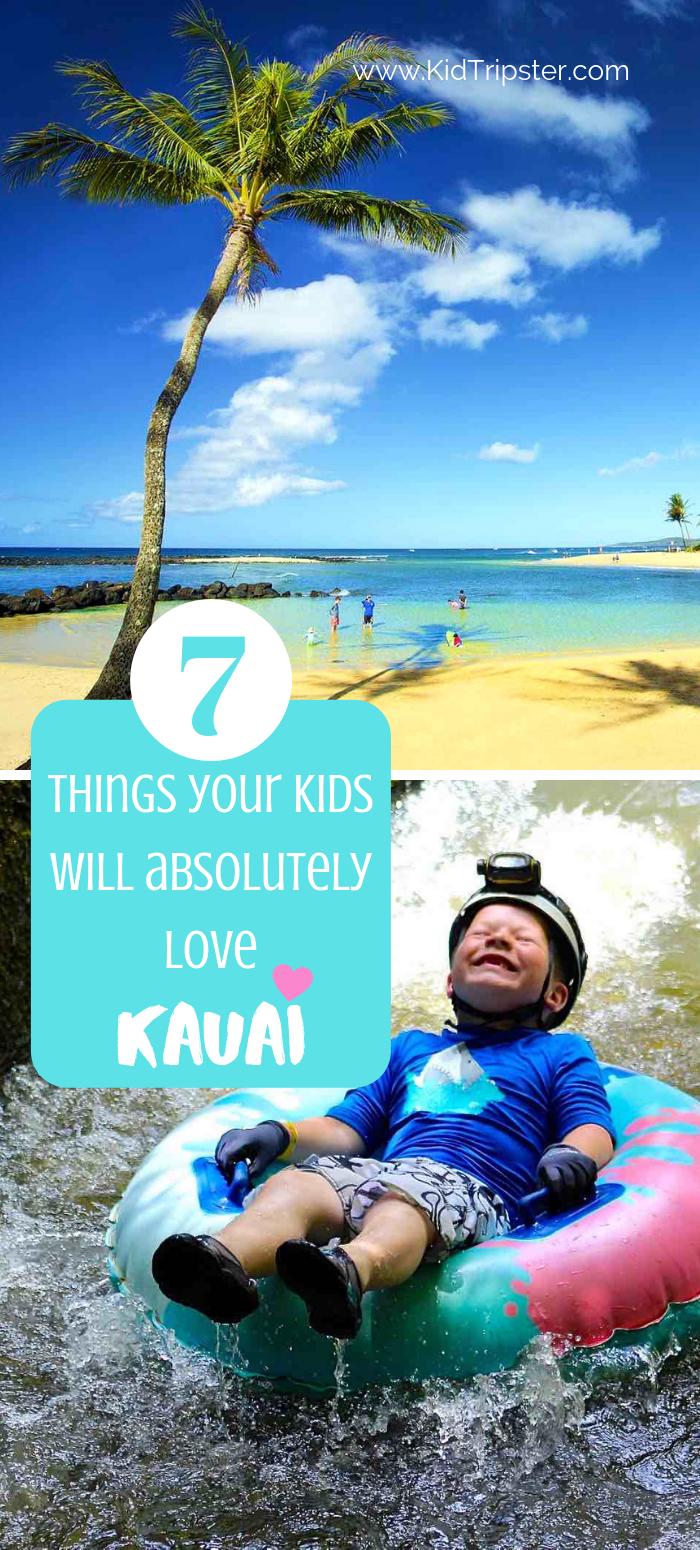 Things to do with kids in Kauai Hawaii