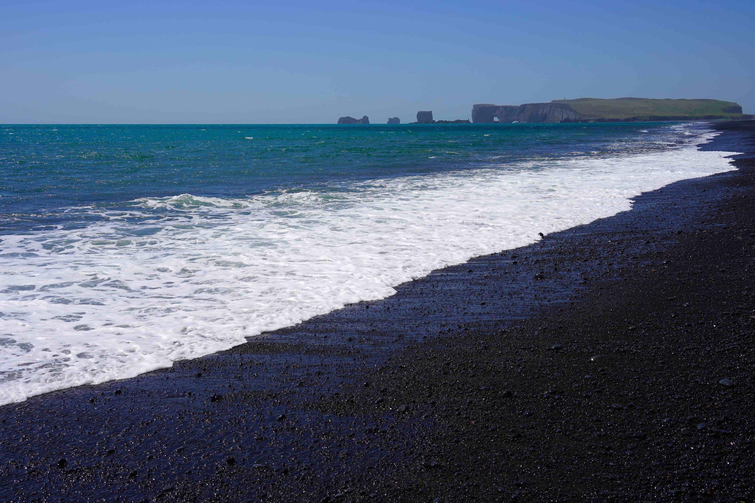 5/Black sand beaches