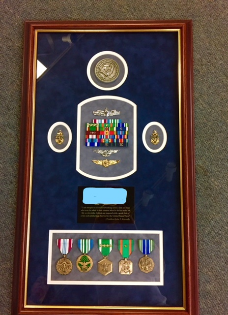 Reddi-Arts frame department can create beautiful shadow boxes for you or your loved one's treasured   mementos  .