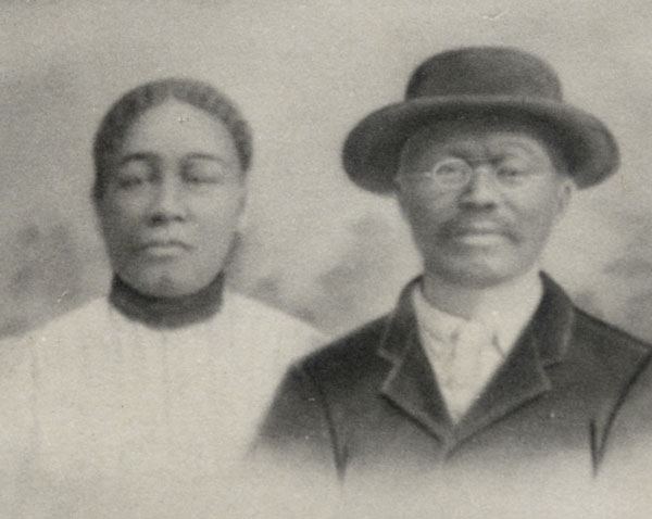 Early Benton County residents from the Rutherford family; one time slaves and eventual land owners.
