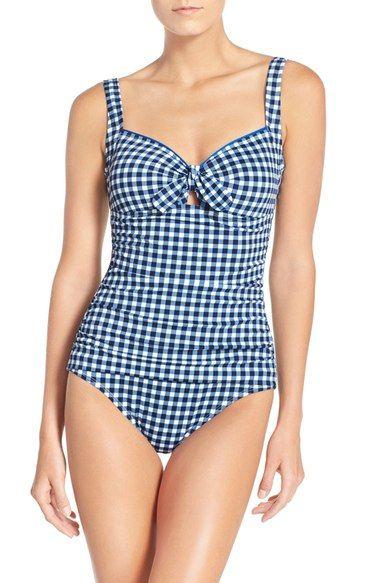 Tommy Bahama Gingham bathing suit