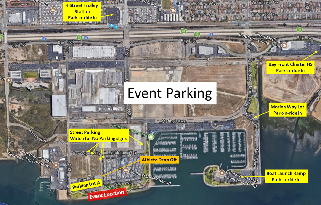 Parking — CVC Half Triathlon on