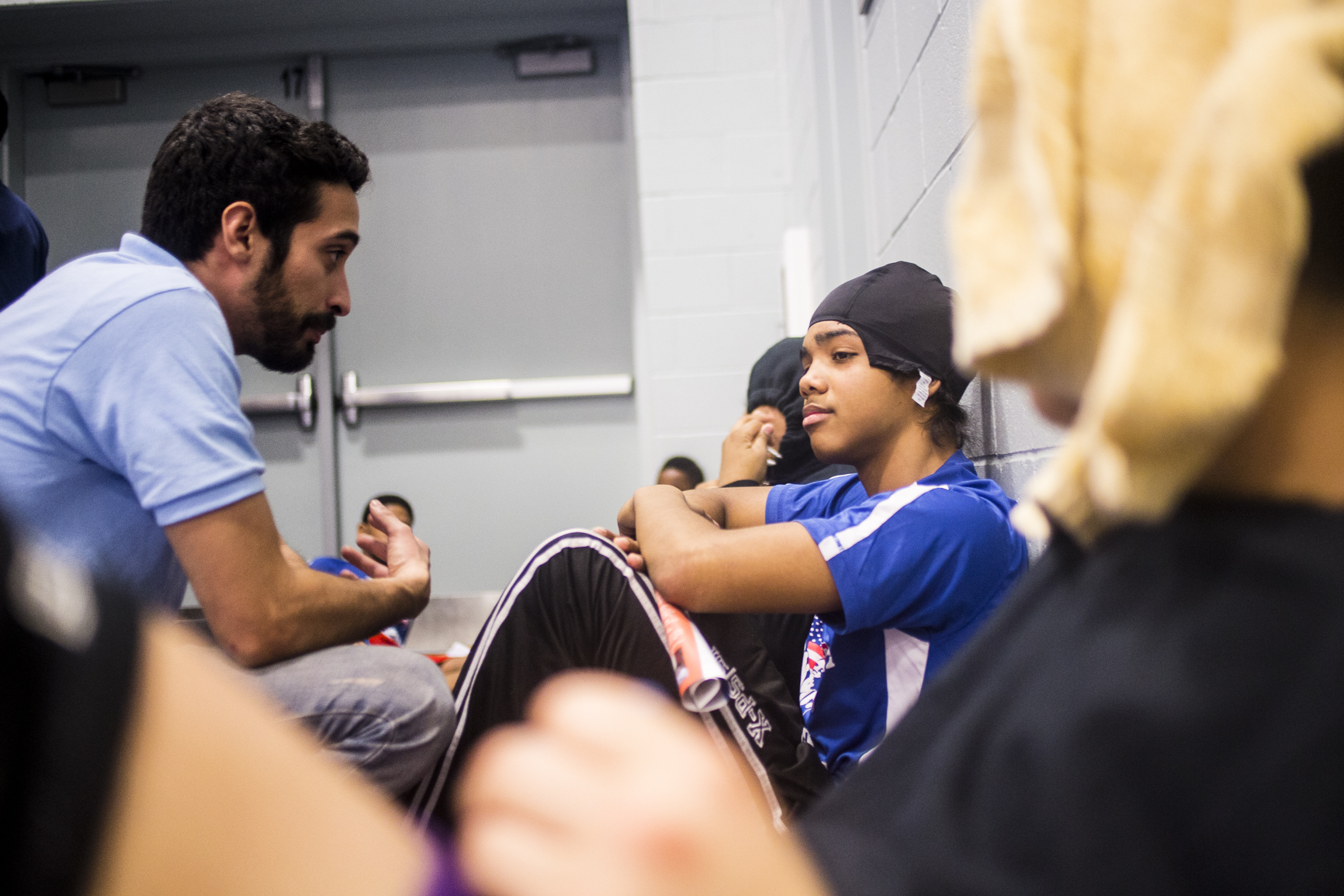 Mentorship - Our coaches are trained to work with marginalized students and build their character and self-esteem, and to build healthy relationships with adults and peers.