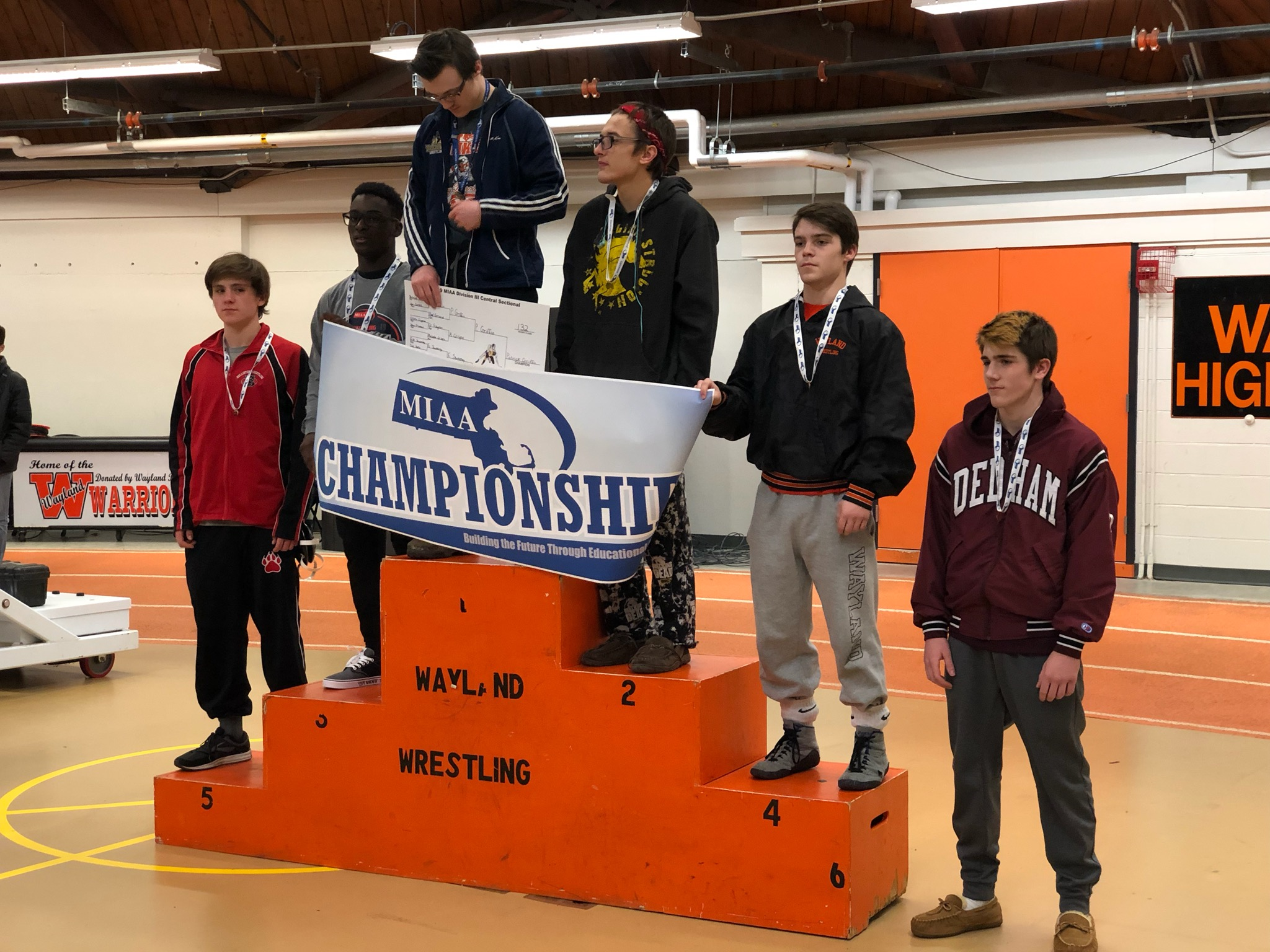 Malcolm Chrispin (Boston Latin Academy) places 3rd at the MIAA Division 3 Central Championships, becoming the first-ever state qualifier for his school.