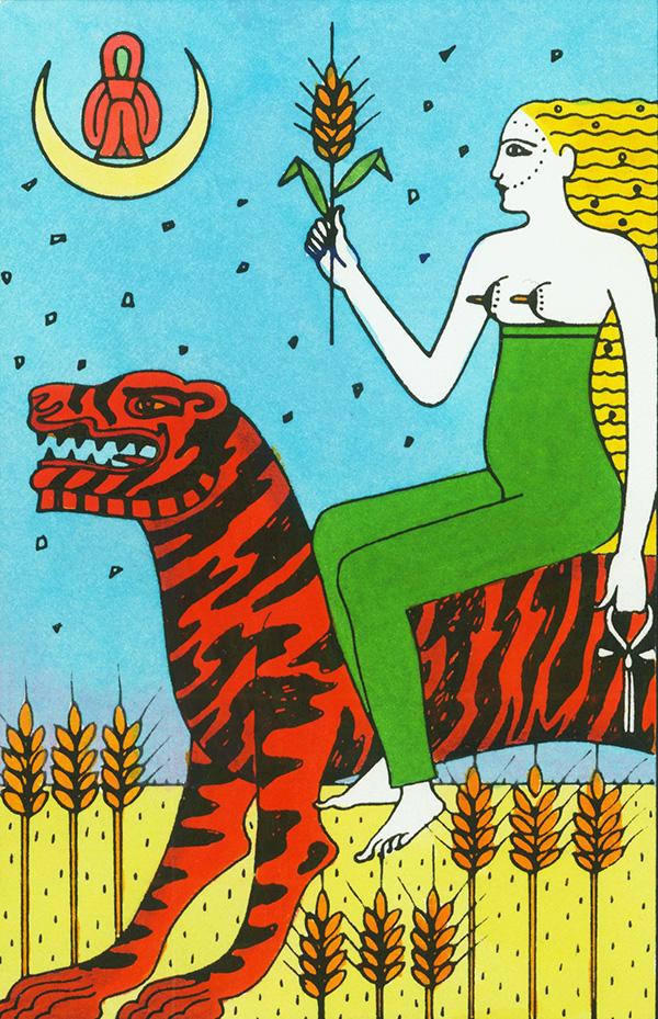 Illustration:  Caroline Smith from The Elemental Tarot