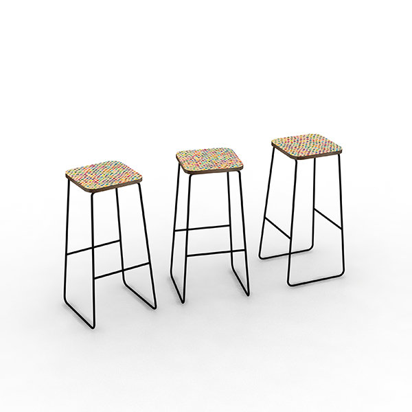 Designing a simple bar stool. These initially came about because I built a bar table in our dinning area and now we are in need of bar stools. Undecided on the seat pattern at the moment. TBC!