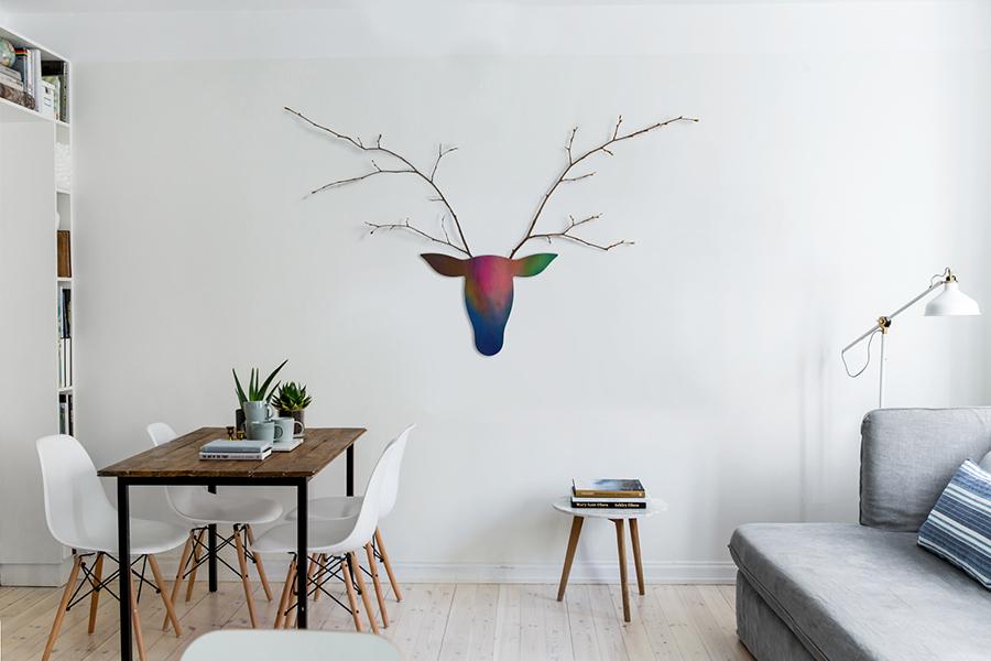 Forest Warrior - Wall Mount Vase
